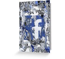 Social Series - Facebook Greeting Card
