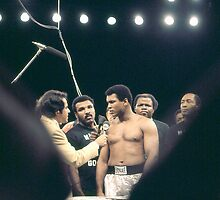 Mohammad Ali Being Interviewed by Sal Marchiano. by cjkuntze