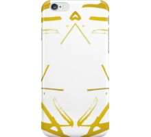 Golden Lines - Triangle iPhone Case/Skin