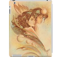 """THE GEMINI"" - Protective Angel for Zodiac Sign iPad Case/Skin"