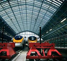 eurostar terminal at st. pancras station II by opiumfire