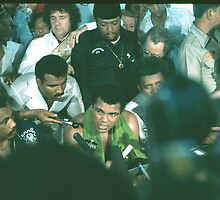 Ali Post Fight Conference. Thrilla in Manila 2. by cjkuntze