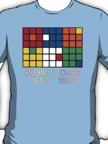 Rubik's Cube Est 1980 T-Shirt