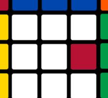 Rubik's Cube Est 1980 Sticker