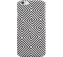 Circle with motion iPhone Case/Skin
