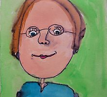 My Oma by Zoe Thomas Age 7 by Julia  Thomas