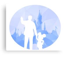 Diamond Disneyland Canvas Print