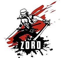 Zoro Photographic Print