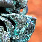 Patina Flower 2 by Charlotte Hertler