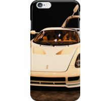 new sport car isolated  iPhone Case/Skin