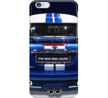 mini coupe blue colour iPhone Case/Skin