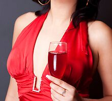 Red Wine by Aleksandra Navetnaya