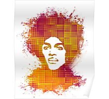 Prince Rogers Nelson - When Doves Cry orange Poster
