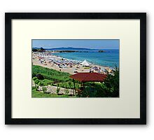 """""""Lazing on a Sunny Afternoon"""", Lozenets, Bulgaria Framed Print"""