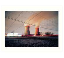 Nuclear Art Print