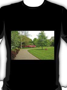 Fairmount Park Azalea Garden - Philadelphia Pennsylvania USA T-Shirt