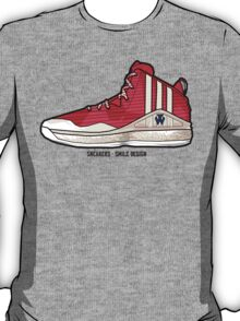 Sneakers - SMILE Design T-Shirt