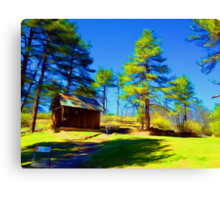 The Cuyamaca Cabin Canvas Print