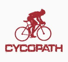 Cycling Cycopath Funny T Shirt by movieshirtguy