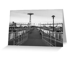 The Steeplechase Pier Greeting Card