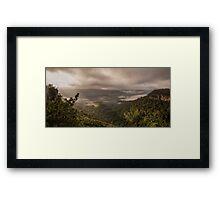 Kangaroo Valley NSW Australia Framed Print
