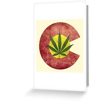 Colorado Dank Logo Greeting Card