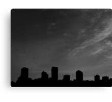 San Francisco Silhouette  Canvas Print