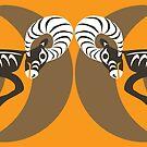 Bighorn Sheep by Mark Gauti