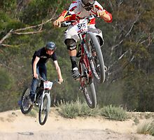 Four Cross Chase by fotosports