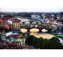 Bridges of Florence Photographic Print