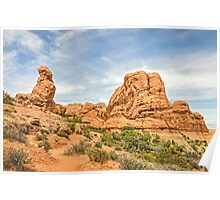 Primitive Trail in Arches National Park Poster