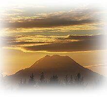 Mt. Rainier Around Sunrise by Jonice