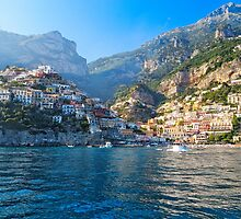 Positano Morning View by George Oze