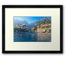 Positano Morning View Framed Print