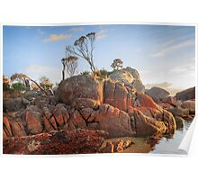 First  Light  Bay Of Fires Poster