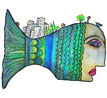 fish world Photographic Print