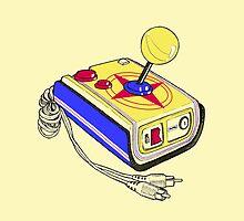 Retro Arkade game Control by María Díaz Jiménez