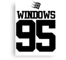 WINDOWS 95  Canvas Print