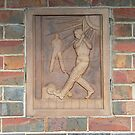 Art Deco Cricket by David Thompson