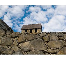 Chulpas, Macchu Picchu, Cuzco, Peru Photographic Print