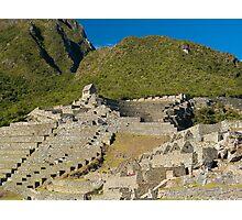 Macchu Picchu, Cuzco, Peru Photographic Print