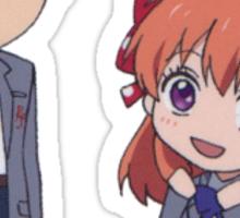 Gekkan Shoujo- Nozaki and Chiyo Sticker