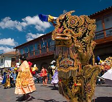 Beautiful scenery of Cuzco, Peru by juan jose Gabaldon