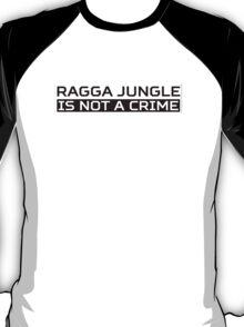 Ragga Jungle Black T-Shirt