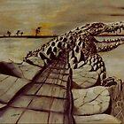 'Crocodile' by Vincent von Frese