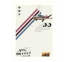 Flight 1 Art Print