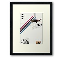 Flight 1 Framed Print