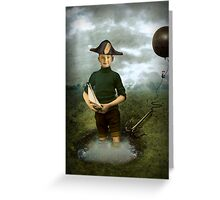 Captain Hero Greeting Card