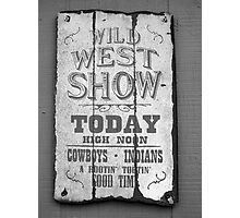 Show Time! Photographic Print