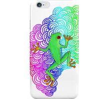 Rainbow Frog iPhone Case/Skin